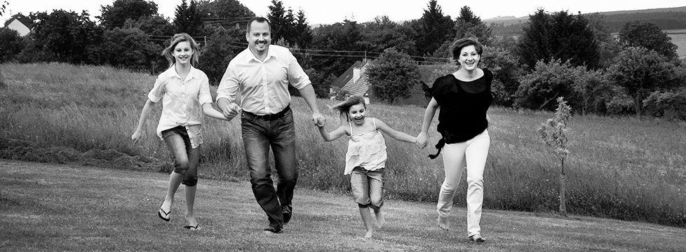 Vermögensberater Gerhard Kahl mit Familie